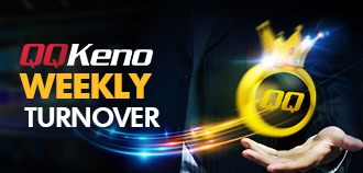 QQ KENO AND FISHING WEEKLY TURNOVER BONUS MYR 1,288