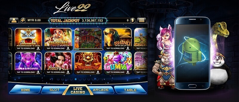 live22 online casino review